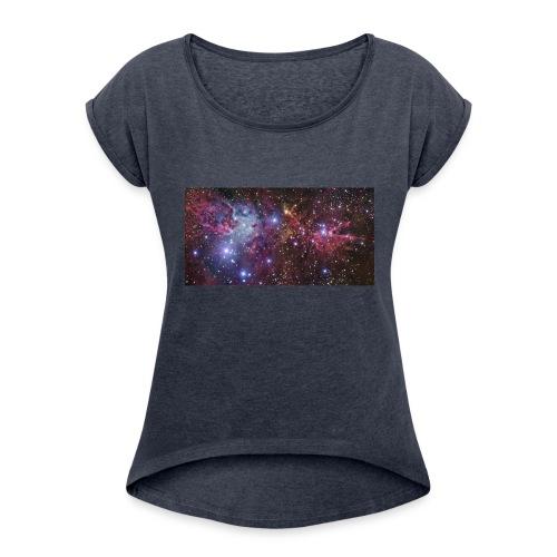 Stjernerummet Mullepose - Dame T-shirt med rulleærmer