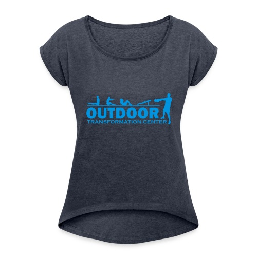 OTC Large Logo - Women's T-Shirt with rolled up sleeves