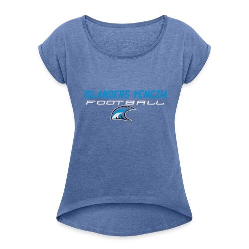 islanders football new logo - Maglietta da donna con risvolti