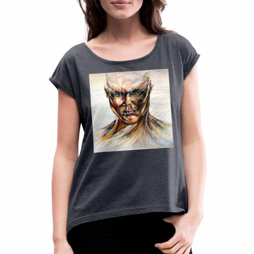 Guardian Angel Master - Women's T-Shirt with rolled up sleeves