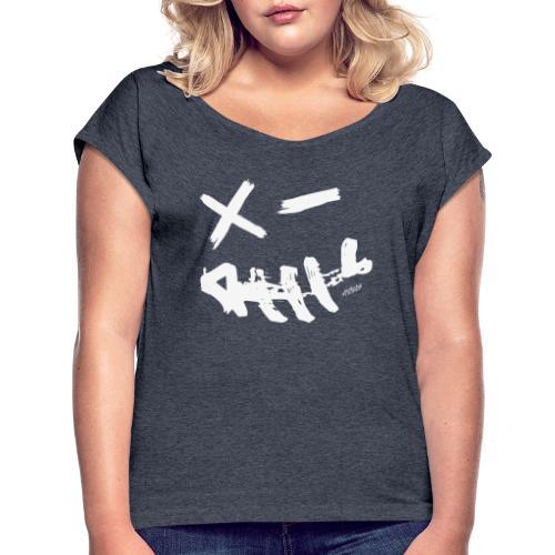 BigSmile - Frauen T-Shirt mit gerollten Ärmeln