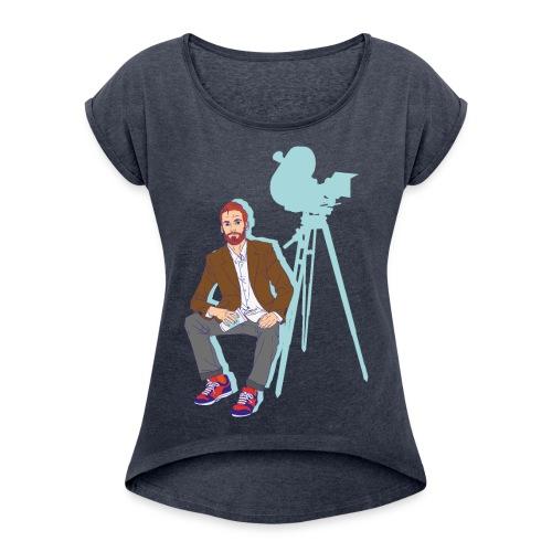 Film maker - T-shirt à manches retroussées Femme