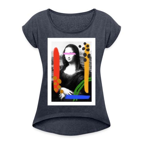Mona Lisa by Anthony - T-shirt à manches retroussées Femme