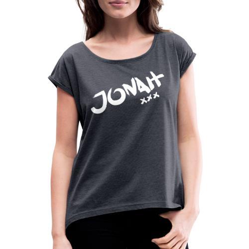 Jonah - Frauen T-Shirt mit gerollten Ärmeln