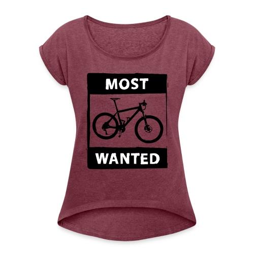 MTB - most wanted 2C - Frauen T-Shirt mit gerollten Ärmeln