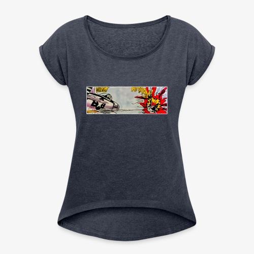ATOX - Maglietta da donna con risvolti
