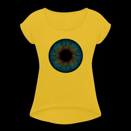 Iris - Frauen T-Shirt mit gerollten Ärmeln