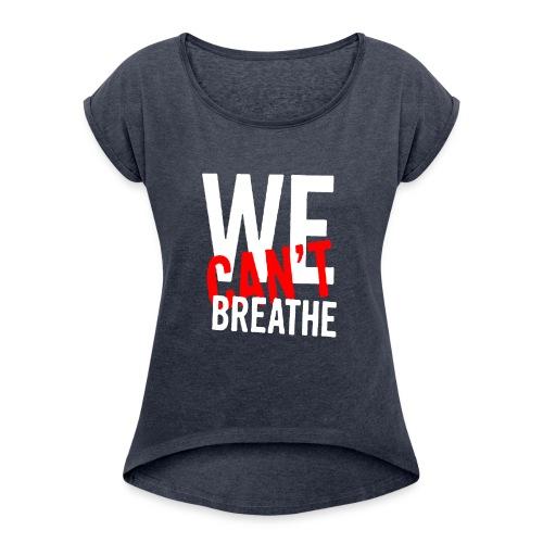 I Can't Breathe Men's T-Shirt Outdoor Sports Shirt - Maglietta da donna con risvolti
