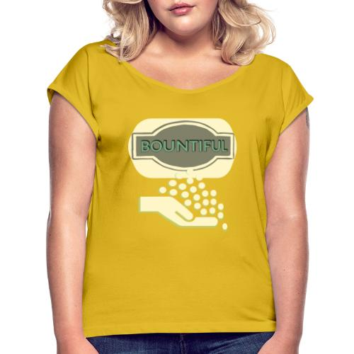 Bontifull - Women's T-Shirt with rolled up sleeves
