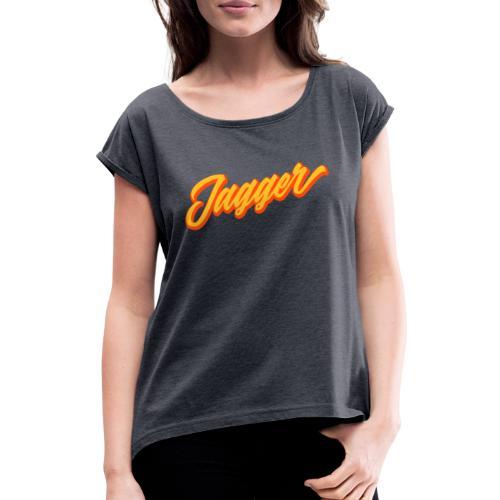 jagger - T-shirt à manches retroussées Femme