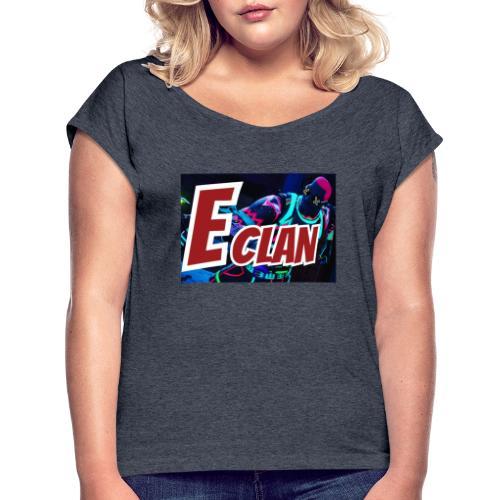 Elite x Clan Turnbeutel - Frauen T-Shirt mit gerollten Ärmeln