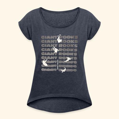 PXL 20210612 091929881 - Frauen T-Shirt mit gerollten Ärmeln