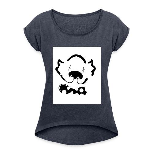 il pagliaccio - Maglietta da donna con risvolti