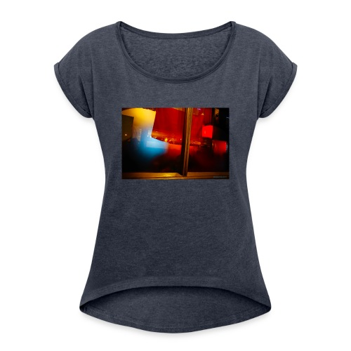 Pub primario. - Camiseta con manga enrollada mujer