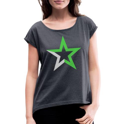 Etoile des Numériques, sans logo - T-shirt à manches retroussées Femme