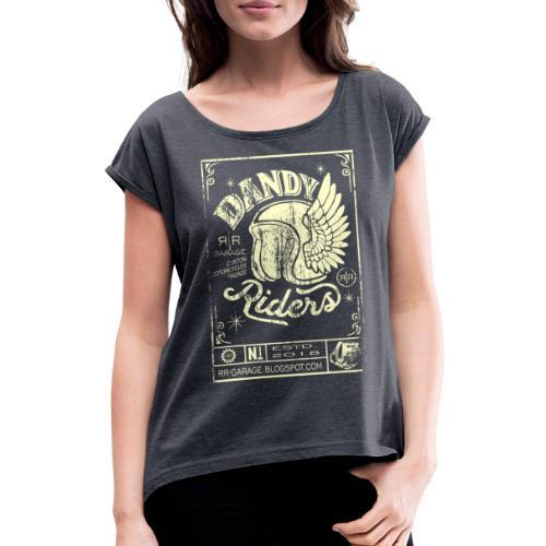 DANDY RIDERS - Maglietta da donna con risvolti