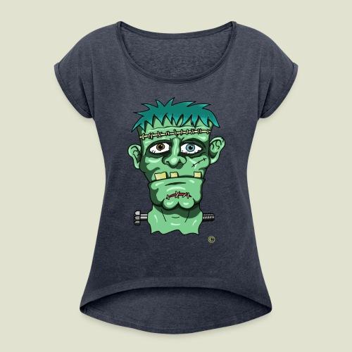 franken projet - T-shirt à manches retroussées Femme