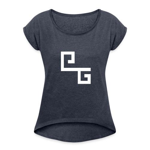 ProxGameplay Mannen T-Shirt - Vrouwen T-shirt met opgerolde mouwen