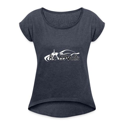 Logotypes rc69volts club de modelisme rc Français. - T-shirt à manches retroussées Femme
