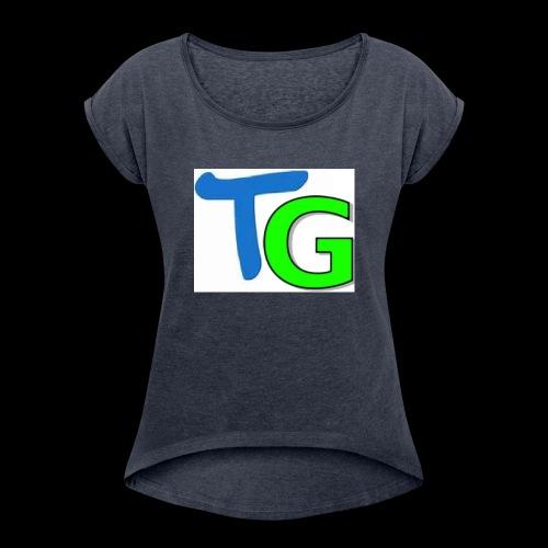 TheGendarme - T-shirt à manches retroussées Femme