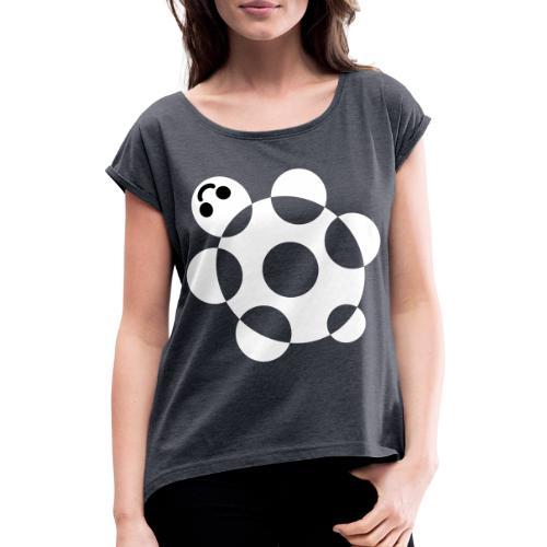 Tartaruga - Maglietta da donna con risvolti