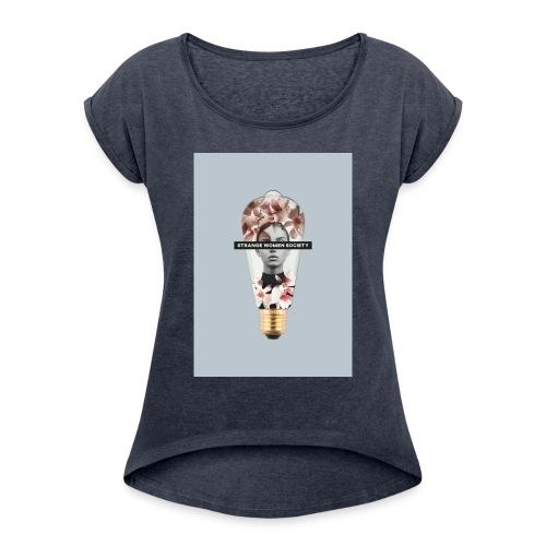 LIGHT N 2 - Maglietta da donna con risvolti