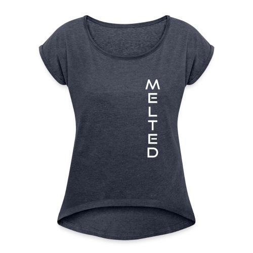 MELTED - Vertical 2.0 - Camiseta con manga enrollada mujer