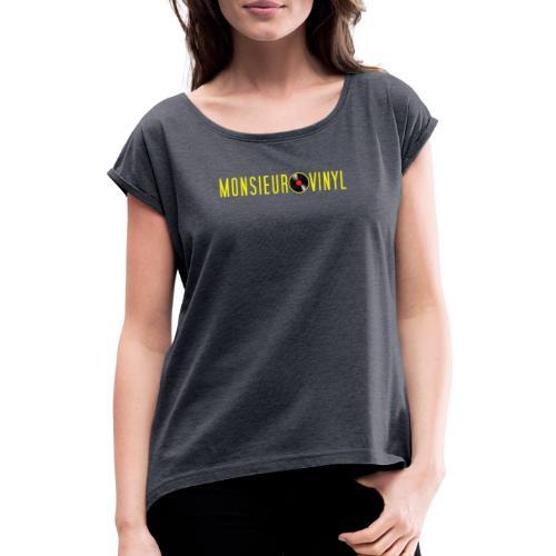Collection Classic - T-shirt à manches retroussées Femme
