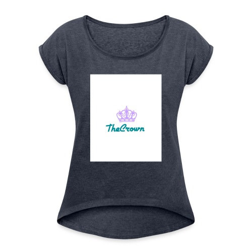 thecrown - Women's T-Shirt with rolled up sleeves