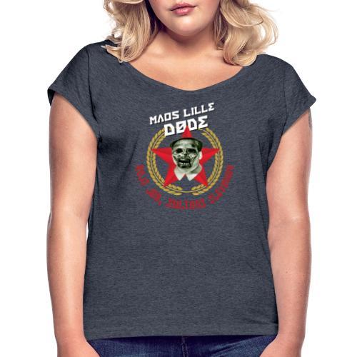Maos lille døde - Dame T-shirt med rulleærmer