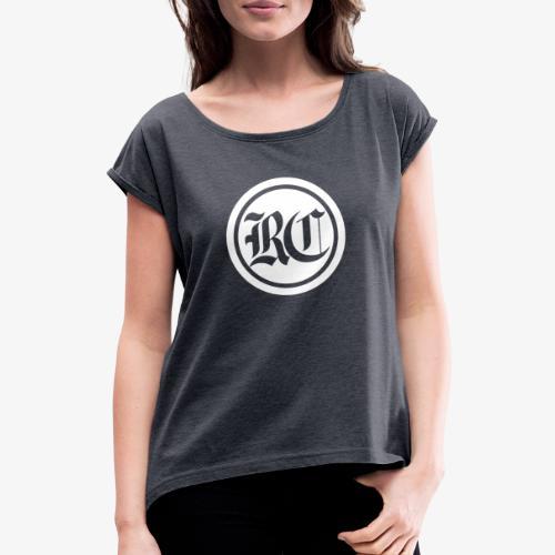 RC Logo - Frauen T-Shirt mit gerollten Ärmeln
