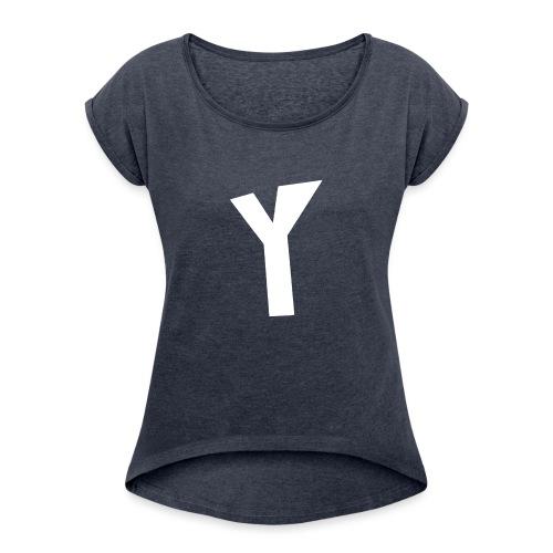 kids vest YIRCO - Vrouwen T-shirt met opgerolde mouwen