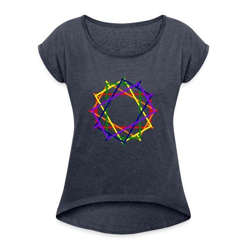 Toleranter Widerstand 20.2 - Frauen T-Shirt mit gerollten Ärmeln