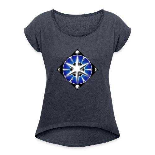 Blason elfique - T-shirt à manches retroussées Femme