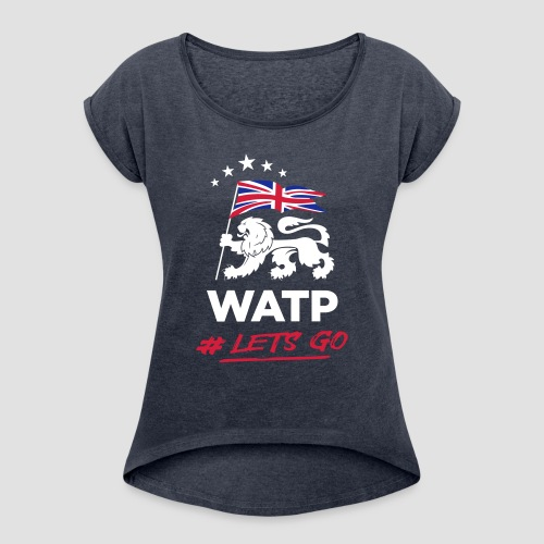 WATP - Women's T-Shirt with rolled up sleeves