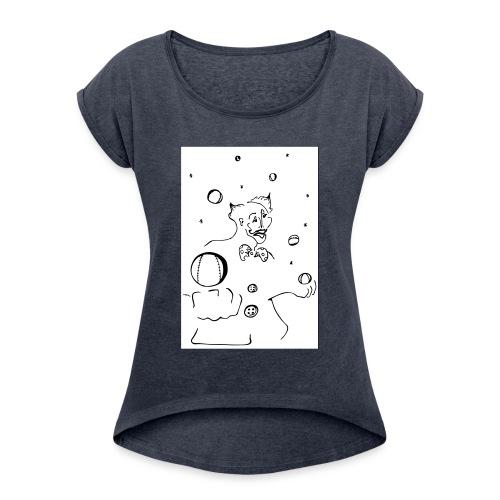 pallottoliere - Maglietta da donna con risvolti