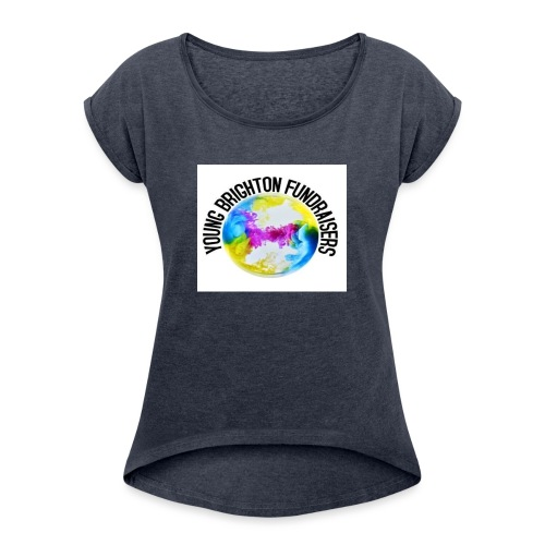 Young Brighton Fundraisers - Women's T-Shirt with rolled up sleeves