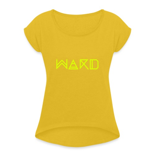 WARD - Women's T-Shirt with rolled up sleeves