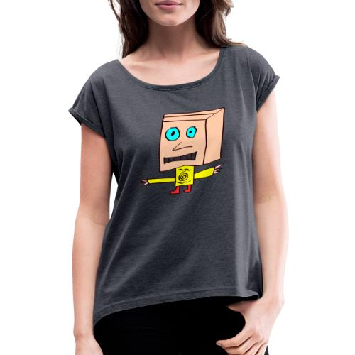 billie - Frauen T-Shirt mit gerollten Ärmeln