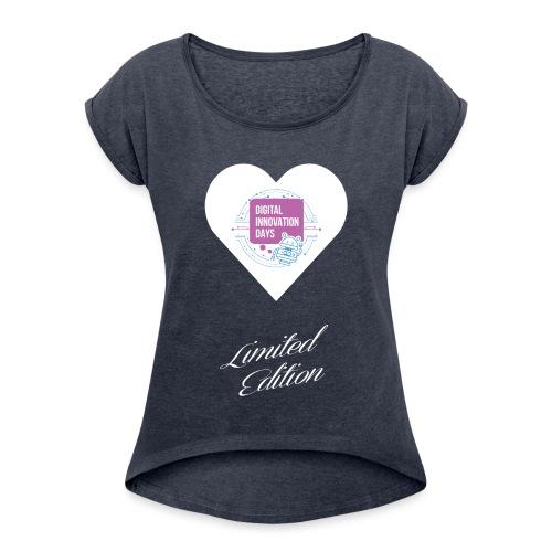 Heart Digital Innovation Days - Maglietta da donna con risvolti