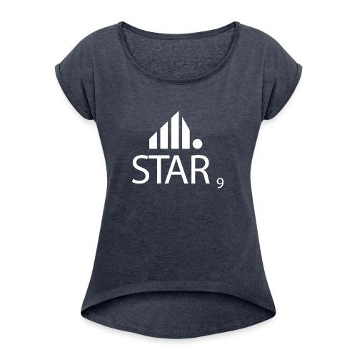 Star9 shirt - T-skjorte med rulleermer for kvinner