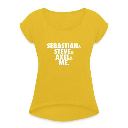 BEATSAUCE House Mafia T-shirt - Maglietta da donna con risvolti