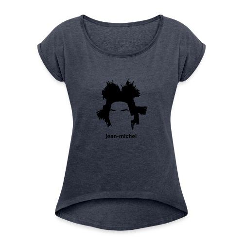 Jean-Michel Basquiat - Maglietta da donna con risvolti