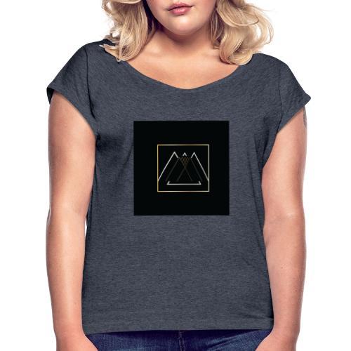 F3431EAA A8D8 4246 AA70 232C81450E66 - T-shirt à manches retroussées Femme