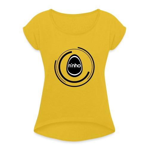 ninho-circle - Maglietta da donna con risvolti