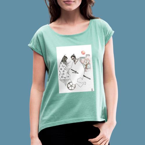 Samurai copia jpg - Maglietta da donna con risvolti