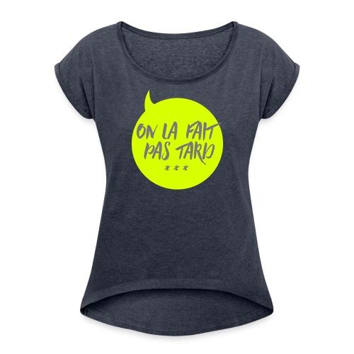 pastard - T-shirt à manches retroussées Femme