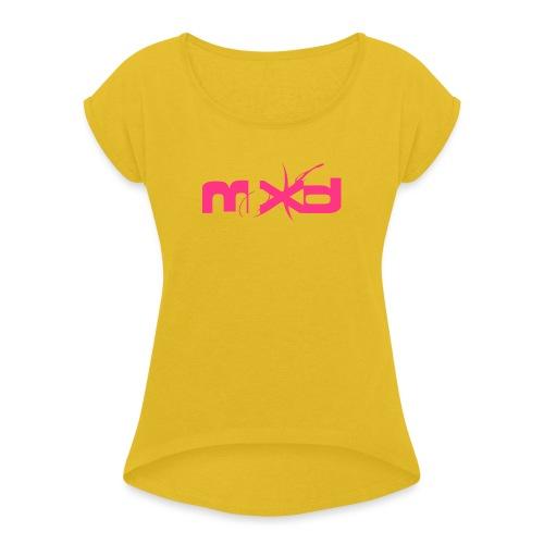 MXD - T-shirt à manches retroussées Femme