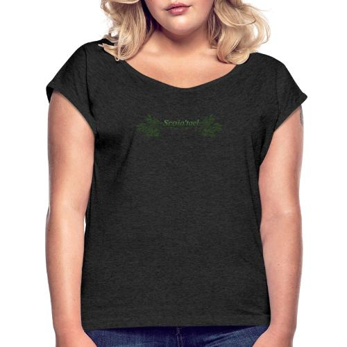 scoia tael - Women's T-Shirt with rolled up sleeves