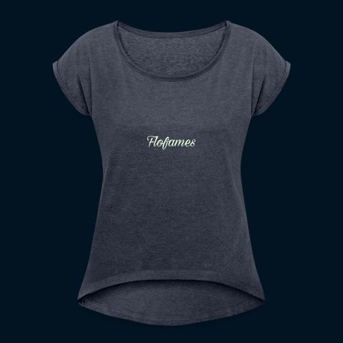 camicia di flofames - Maglietta da donna con risvolti